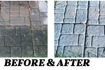 Paver & Patio Cleaning